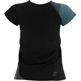 Compressport Performance SS Tshirt Women, zwart